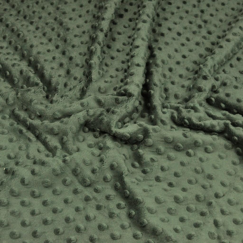 Materiał Minky khaki