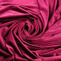 Velvet gładki Burgund 32