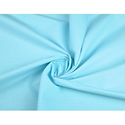 Tkanina gładka jasno turkusowa 220cm