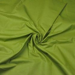 Tkanina gładka oliwka