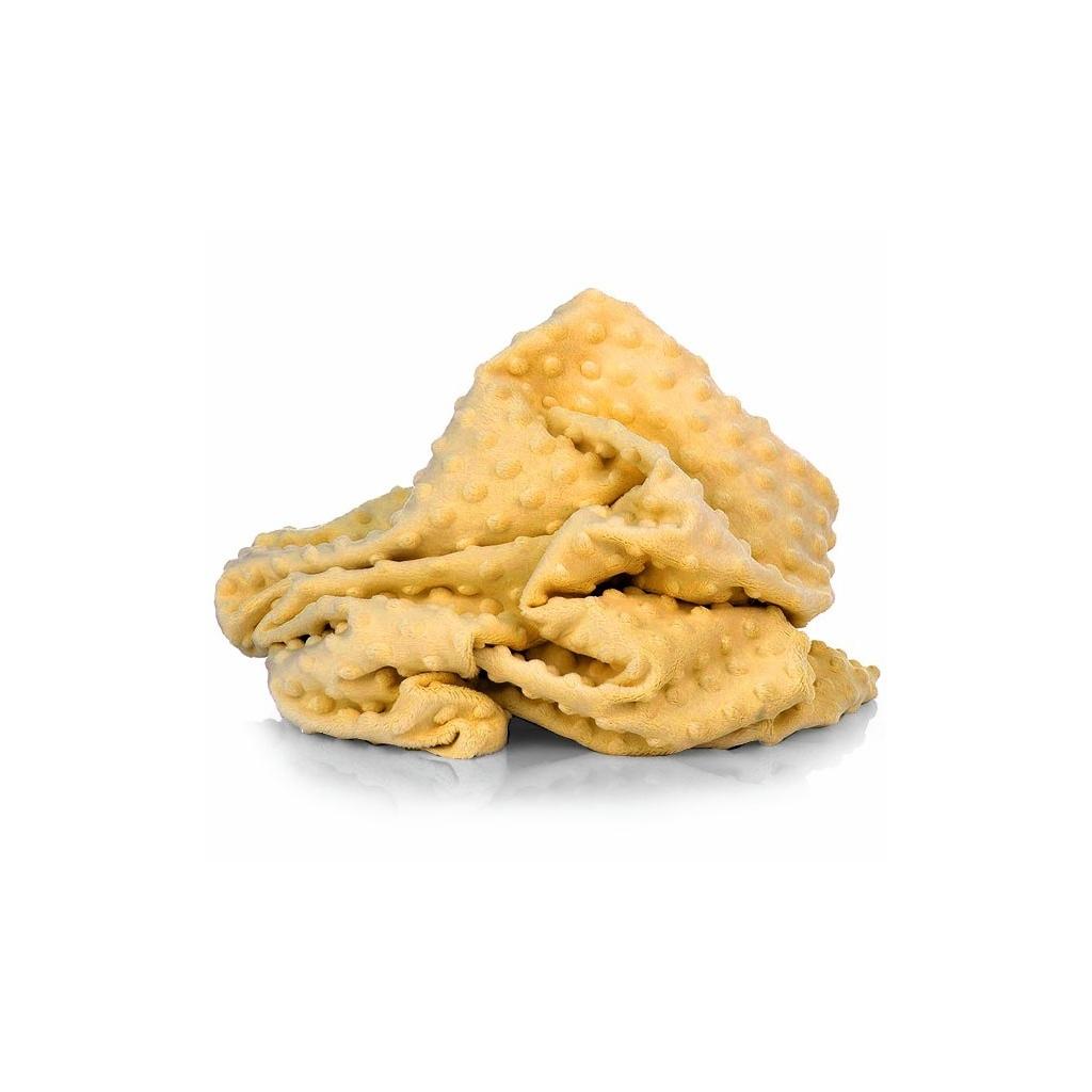 Materiał Minky Premium musztardowy (Spicy Mustard)