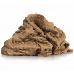 Materiał Minky Premium jasny brązowy (Toasted Coconut)