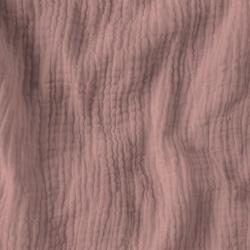 Tkanina Muślin double gauze pastelowy różowy (Sephia rose)