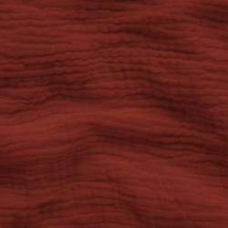 Tkanina Muślin bawełniany double gauze ceglasty (Chili Oil)