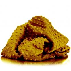 Materiał Minky Premium ciemna musztarda (Chai Tea)
