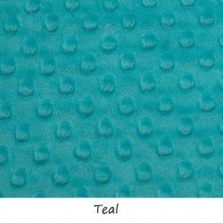 Materiał Minky Premium Ciemny Morski (Teal)