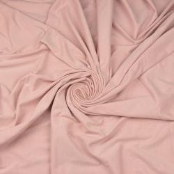 Imagén: Dzianina bawełniana Jersey jednokolorowa brudny róż