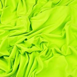 Dzianina bawełniana Jersey jednokolorowa jasna zielona