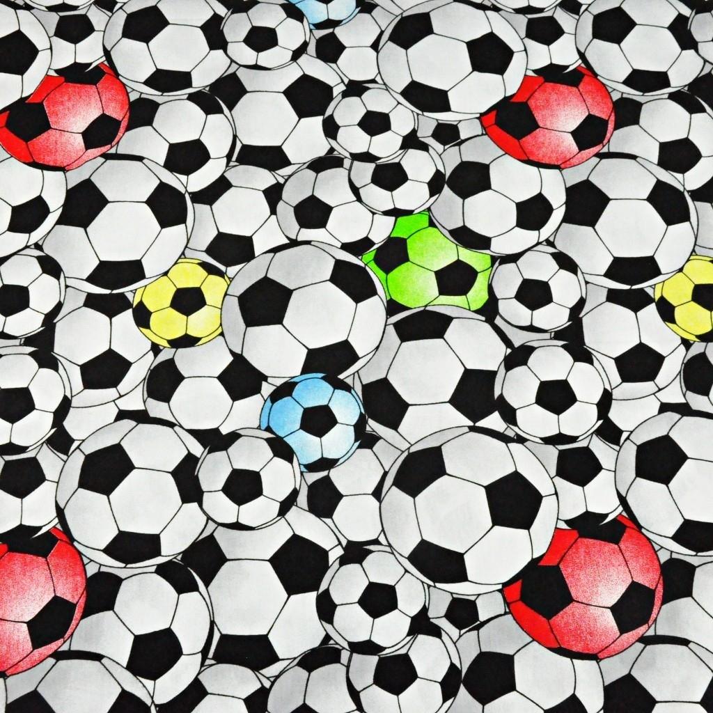 Dzianina bawełniana Jersey piłki 3D