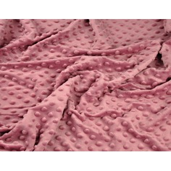 Materiał Minky Premium 270g/m2 - brudny róż
