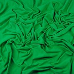 Dzianina bawełniana Jersey jednokolorowa zielona
