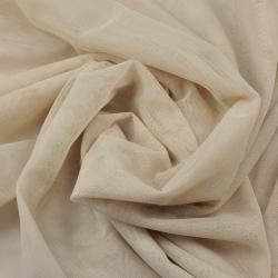 Tiul ubraniowy miękki - beżowy