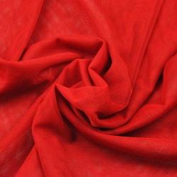 Tiul ubraniowy miękki - czerwony