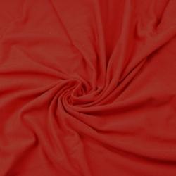 Dresówka z pętelką - jednokolorowa czerwony