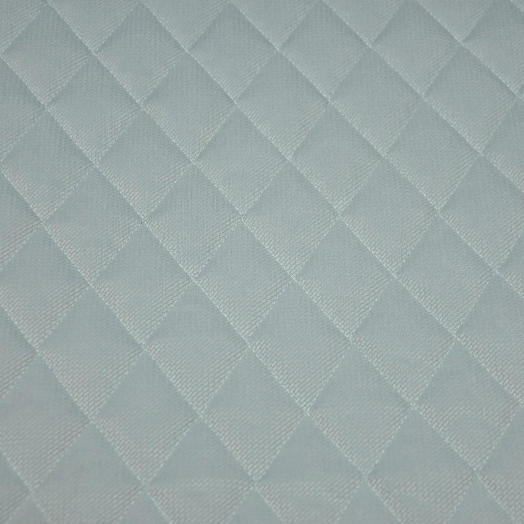 Velvet pikowany jasny szary 11 - romby