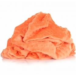 Materiał Minky Premium pomarańczowy (Nectarine)