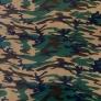 Tkanina wzór MORO zielono-brązowo-bezowy
