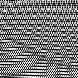 Tkanina w zygzaczek biało czarny