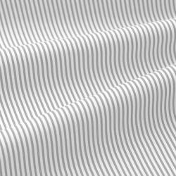 Tkanina antybakteryjna Paseczki szaro białe