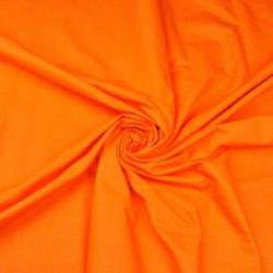 Tkanina gładka marchewkowy