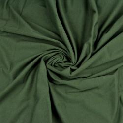 Imagén: Dzianina bawełniana Jersey jednokolorowa khaki