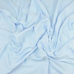 Dzianina bawełniana Jersey jednokolorowa błękitny