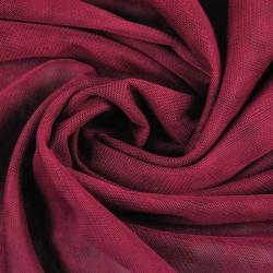 Tiul ubraniowy miękki - bordowy