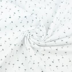 dmuchawce MINI grafitowe na białym tle
