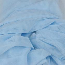 Tiul ubraniowy miękki - jasny niebieski