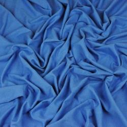 Imagén: Dzianina bawełniana Jersey jednokolorowa ciemno niebieska