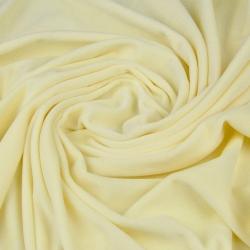 Welur bawełniany odzieżowy - ecru