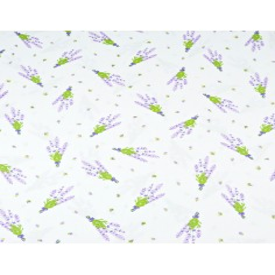 gałązki lawendy na białym tle - 220 cm