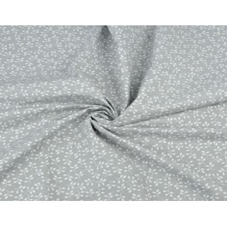 Gałązki MINI białe na szarym tle