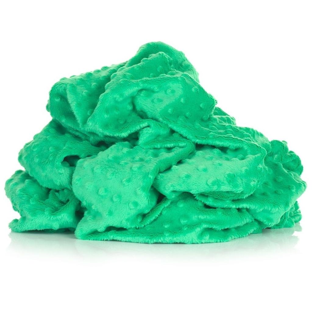Materiał Minky Premium zielony trawiasty (Mint)