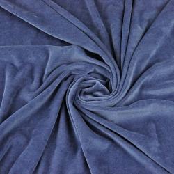 Welur bawełniany odzieżowy - Jeans