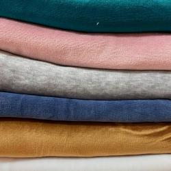 Welur bawełniany odzieżowy - ścinki MIX , końcówki - 1kg