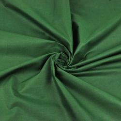 Bawełna gładka ciemno zielona