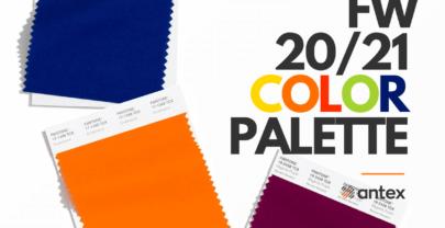 Modne kolory 2020/2021: sezon Jesień – Zima